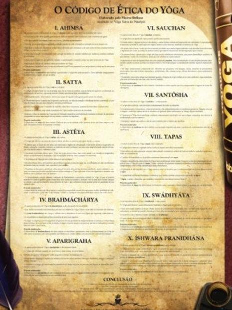 Pôster do Código de Ética do Yôga
