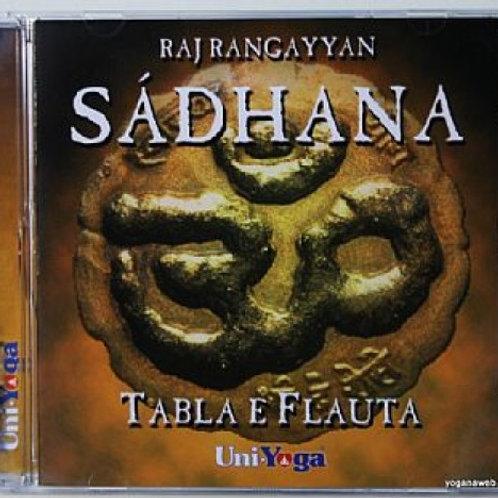 CD - Sádhana - Tabla e Flauta - Raj Ragayyan