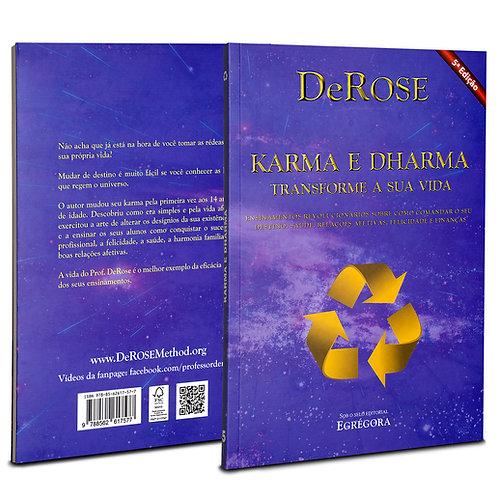 Livro - Karma e Dharma - DeRose - 5ª Edição