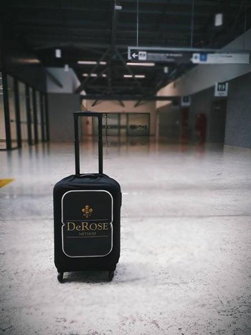 Capa para mala de viagem - DeRose Method