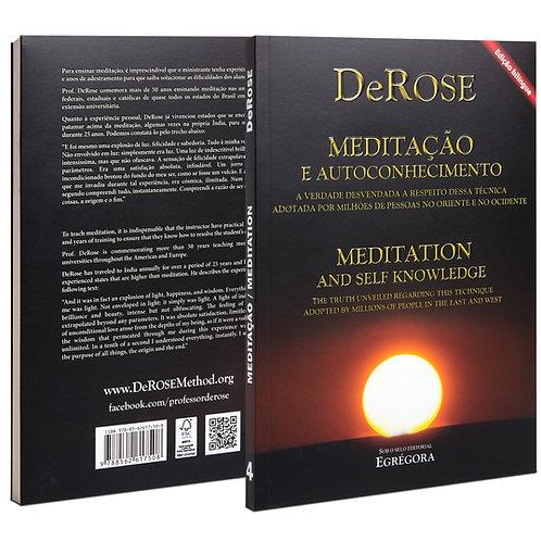 Livro - Meditação e Autoconhecimento - DeRose - Ed. bilingue