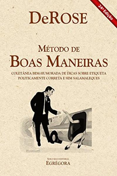 Livro - Método de Boas Maneiras - DeRose 24ª Ed.