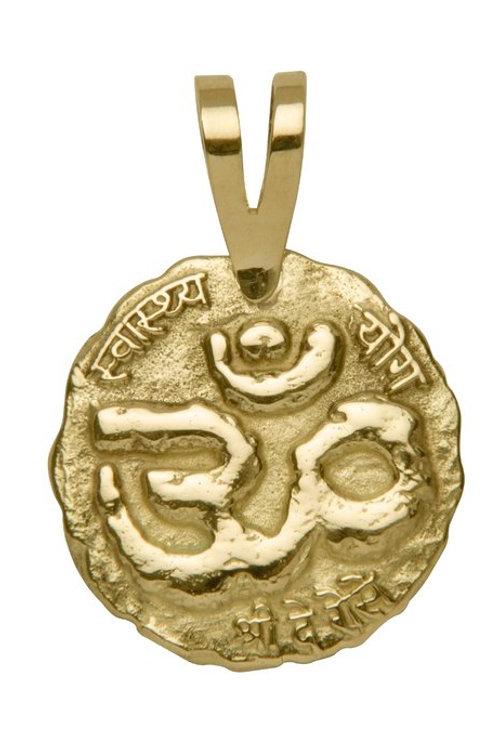 Medalha do ÔM em ouro - pequena