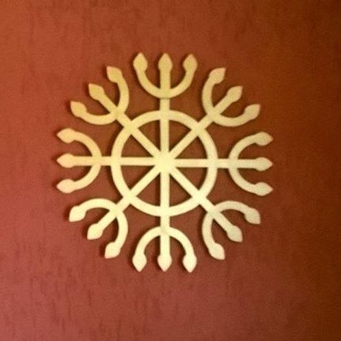 Ashtánga yantra decorativo