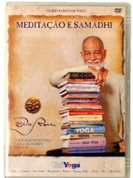 DVD - Curso Básico - Aula 18 - Meditação e Samádhi
