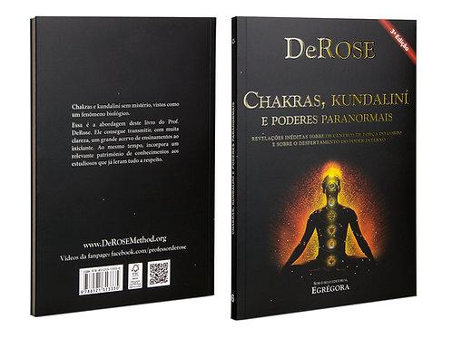 Livro - Chakras, Kundaliní e Poderes Paranormais - DeRose - 3ª Ed.