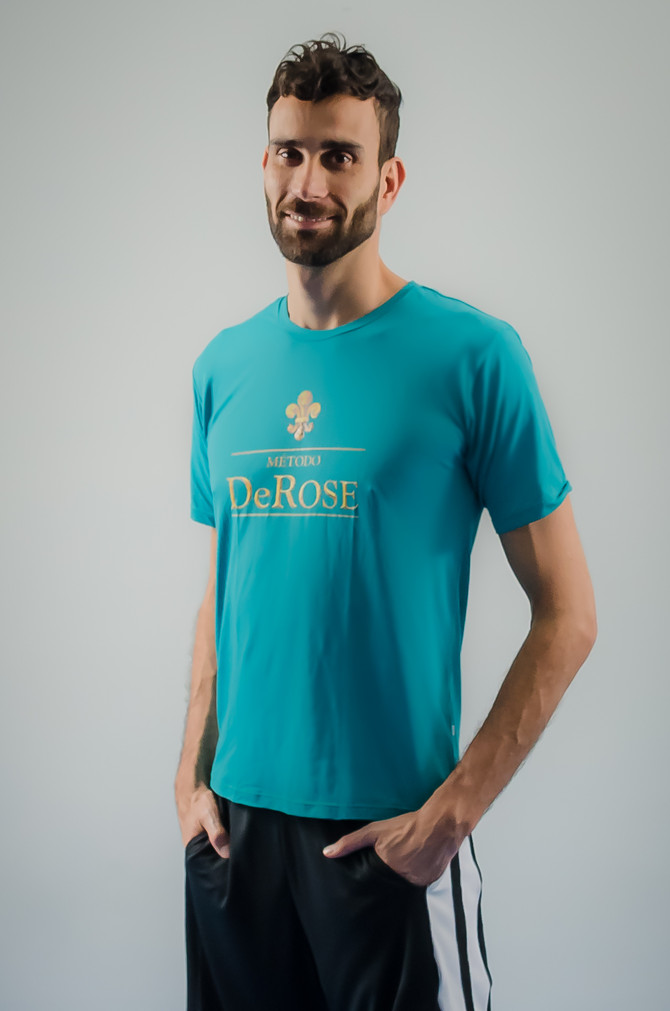 Camiseta masculina poliamida