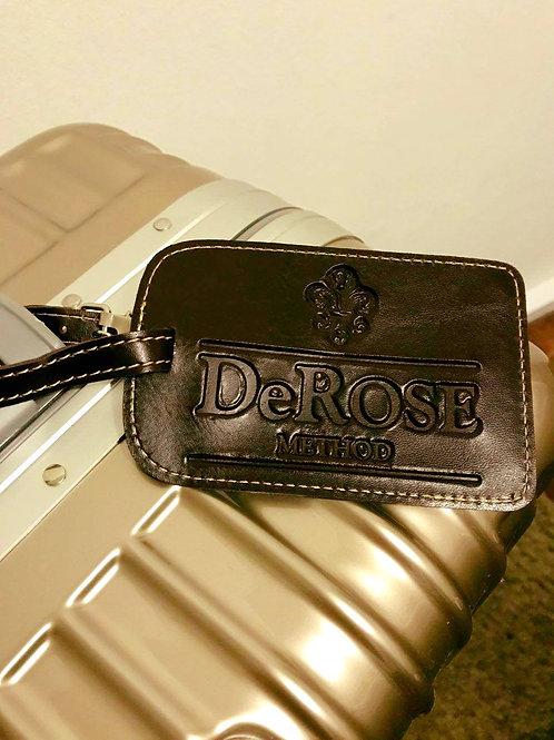 TAG para bagagem em couro sintético - DeRose Method