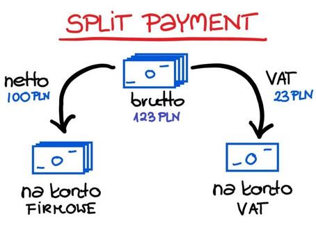 Split payment (metoda podzielonej płatności) od 1.11.2019 r. Likwidacja KRAJOWEGO odwr. obciążenia