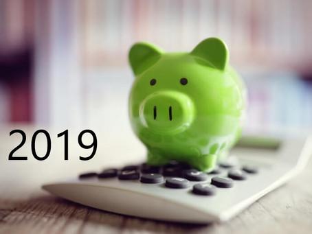2019: zmiany w podatkach i ZUS – małe kompendium
