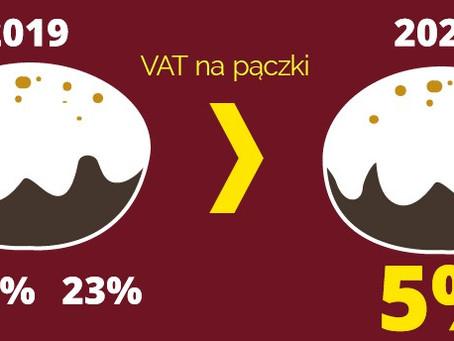 3 stawki VAT na pączki - ostatni taki tłusty czwartek