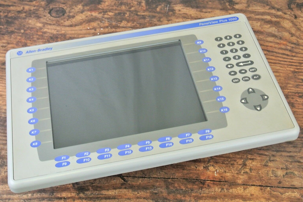 Allen-Bradley 2711P-K10C15D1 Panelview PLUS 1000 Control Net, Display Mod   REV D