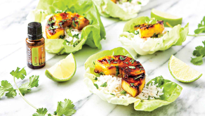 GRILLED PINEAPPLE LETTUCE CUPS