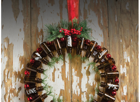 Winter Upcycle Project: Holiday Wreath