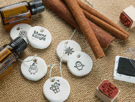 Aromatherapy Salt Dough Ornaments