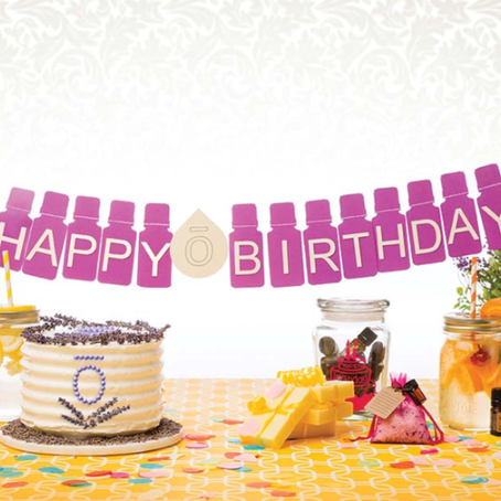 ESSENTIAL OIL THEMED BIRTHDAY PARTY