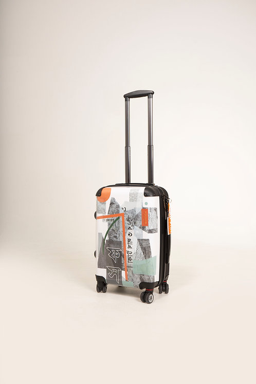 WALL ART INSPIRED PRINT SUITCASE