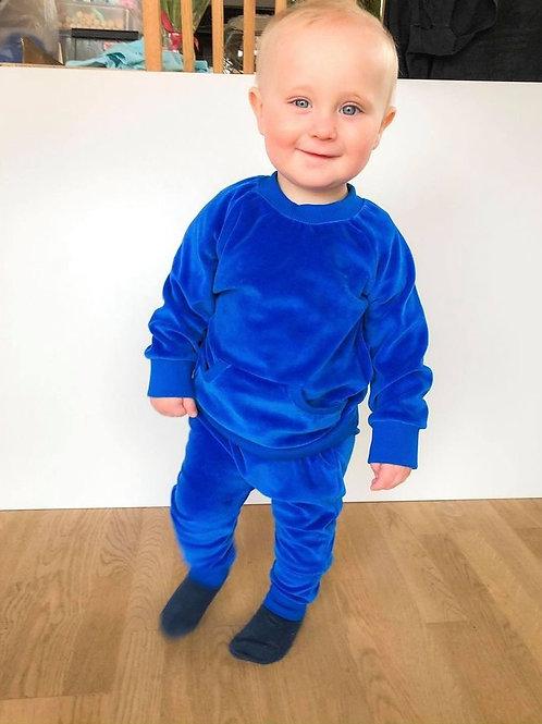 Veliūrinis kostiumėlis  blue