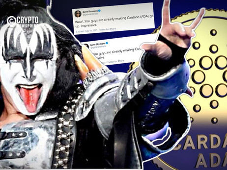 Kiss Bassist Gene Simmons Invests In Cardano