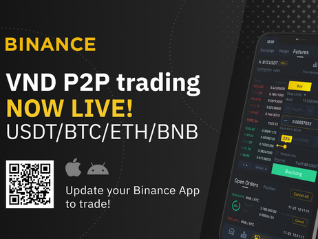 Binance Launches P2P Trading Platform For Vietnam's Fiat Currency
