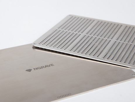 Ngrave Launches Physical Private Key Backup Engraved On A Steel Plate