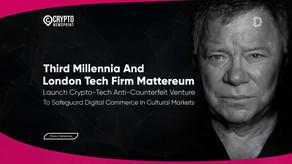 Third Millennia And London Tech Firm Mattereum Launch Crypto-Tech Anti-Counterfeit Venture To Safegu
