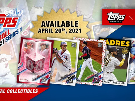 Topps And MLB Players To Issue NFTs