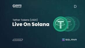 Tether Tokens (USDt) Live On Solana