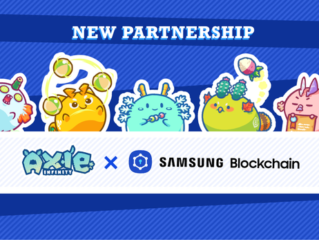 Samsung to List Axie Infinity to its Blockchain Wallet