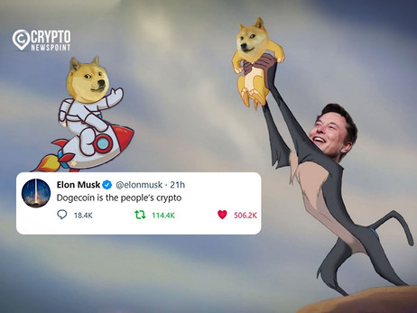 """Dogecoin Price Surged After Elon Musk Tweets """"Dogecoin Is The People's Crypto"""""""
