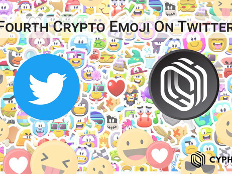Cypherium Got The Fourth Crypto Emoji On Twitter After Bitcoin, Crypto.com And Binance