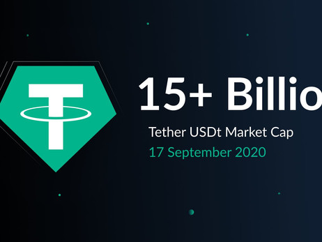 Tether's Market Cap Surpasses US$ 15 Billion As Crypto's Reserve Currency Goes From Strength To Stre