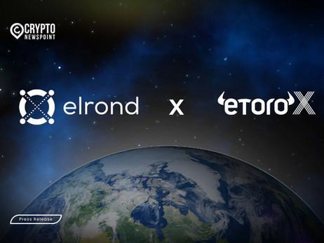 Elrond eGold (EGLD) to list Dec 23 on eToroX