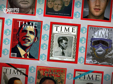 Time Magazine Embraces Blockchain Digital Art Movement By Auctioning Three NFTs Inspired By Some Of