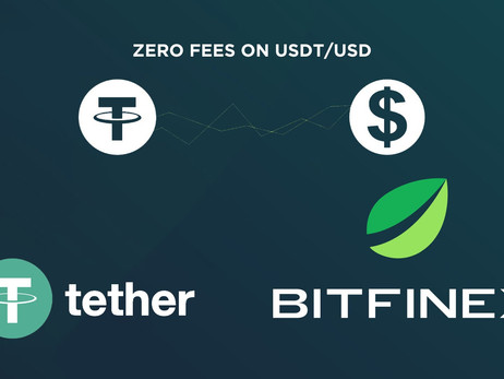 Bitfinex Introduces Zero Fees on Tether/US Dollar (USDt/USD) pair  for Users Generating $15 Million-