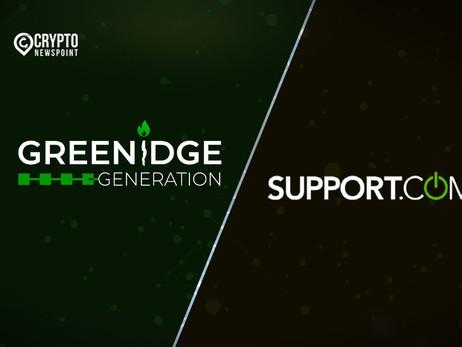 Greenidge Generation And Support.com Announce Merger