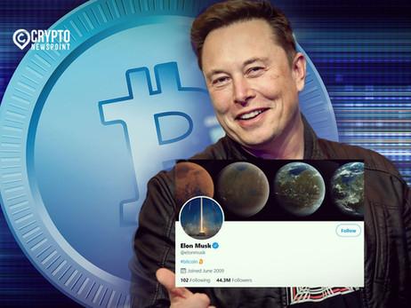 "Elon Musk Updates His Twitter Bio With The Word ""Bitcoin"""