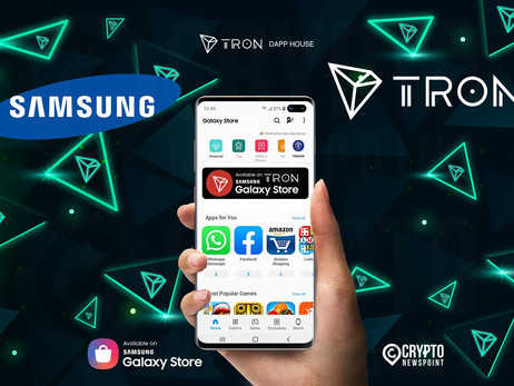 Tron DApps Will Be Featured In The Samsung Galaxy Store