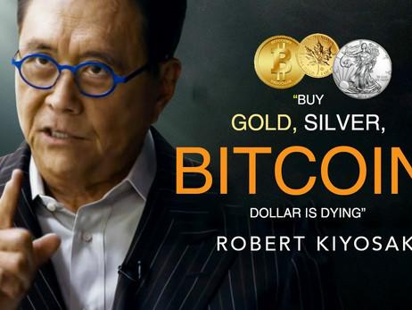 Rich Dad Poor Dad Author Robert Kiyosaki Says Dollar Is Dead, Buy Bitcoin