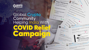 Donations Flow in From Global Crypto Community For COVID-19 Relief Fund Campaign as India Struggles