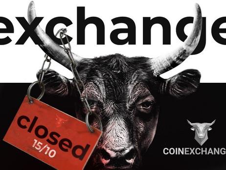 Coinexchange.io to Shutdown for Financial Reasons