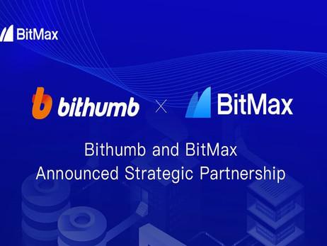 Cryptocurrency Platforms Bithumb, BitMax Announces Partnership