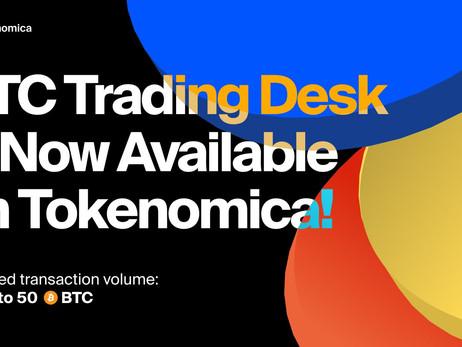 Malta-based Crypto Exchange Tokenomica Announces OTC Crypto-To-Euro Trading