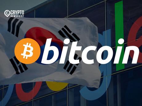 Bitcoin Grows Over Won, Nears Google