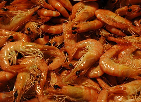 9/12 Whole Cooked King Prawns 5kg Box (Med/Lge)