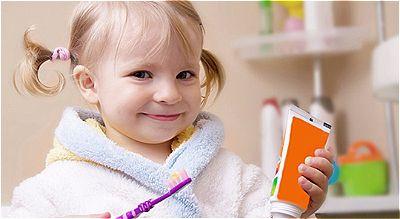 Dica de higienização bucal infantil