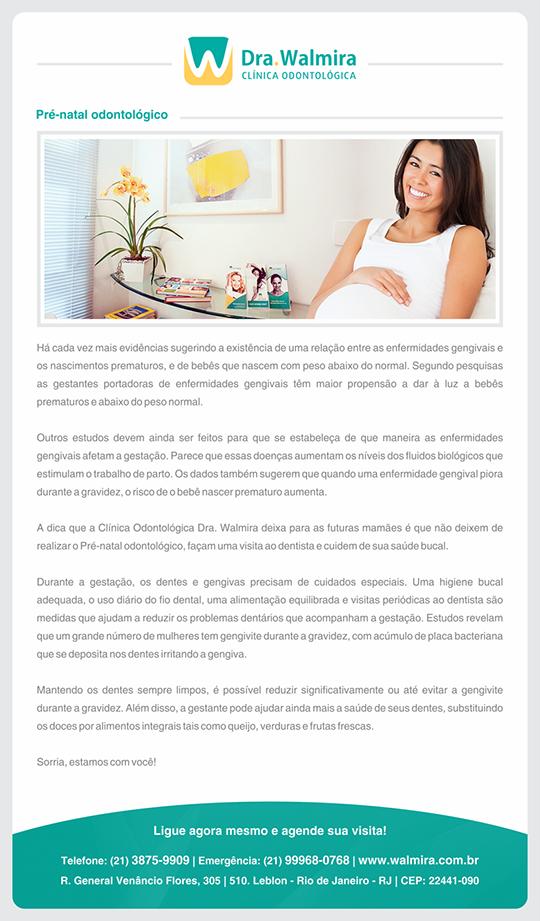 Pré-natal odontológico no Rio de Janeiro
