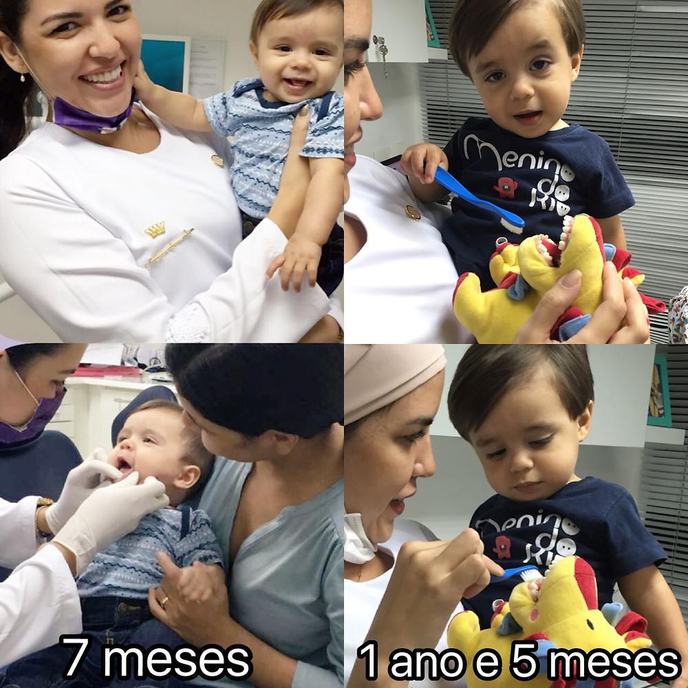 acompanhamento odontológico infantil