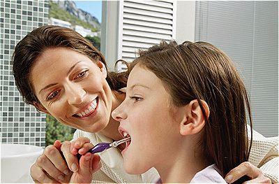 Incentive as crianças a cuidarem da saúde bucal