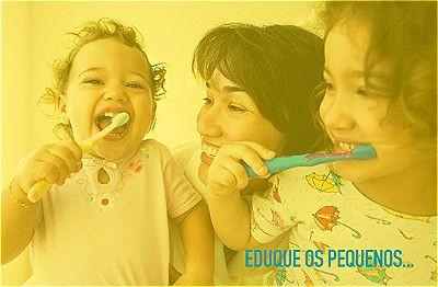 Incentive a escovação e higienização na infância